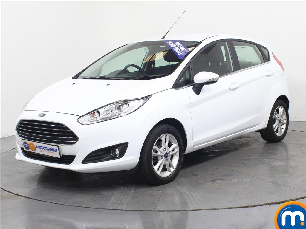 Ford Fiesta Zetec - Stock Number (974535) - Passenger side front corner