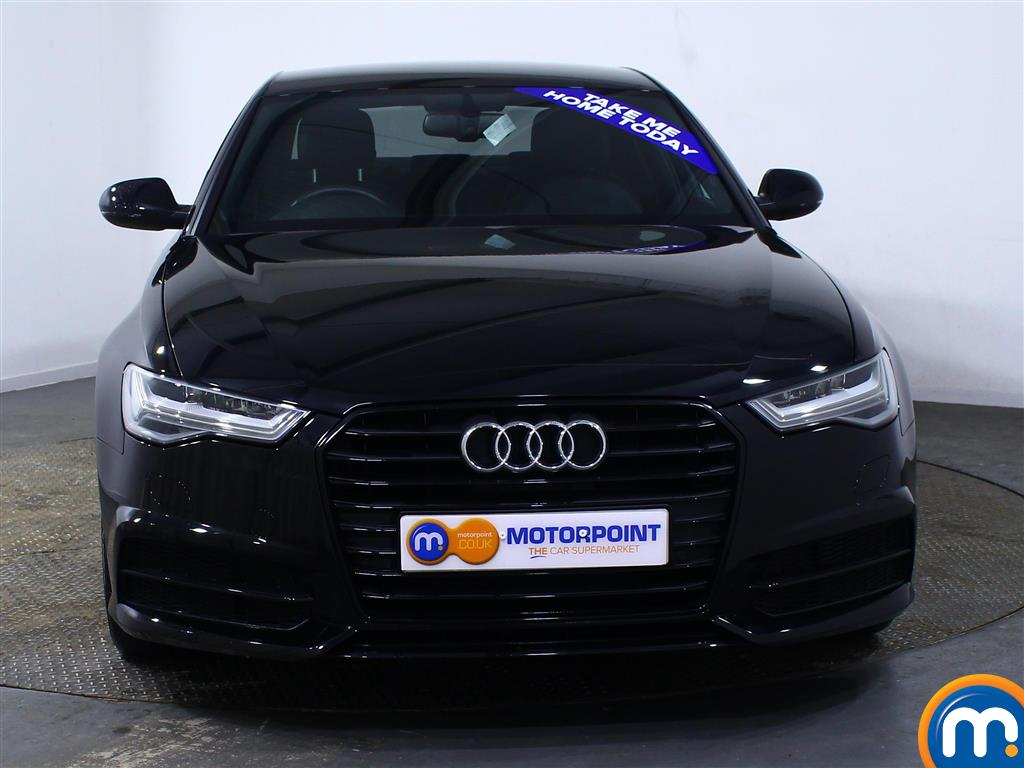 Audi A6 Black Edition Manual Diesel Saloon - Stock Number (974577) - Front bumper