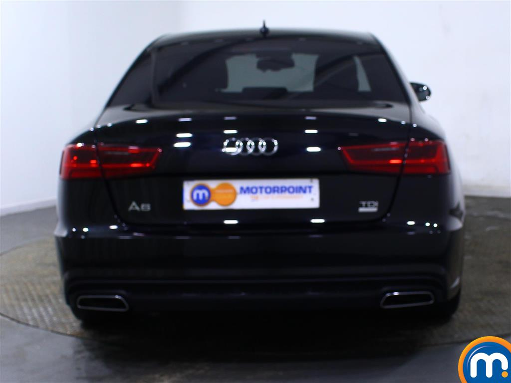 Audi A6 Black Edition Manual Diesel Saloon - Stock Number (974577) - Rear bumper