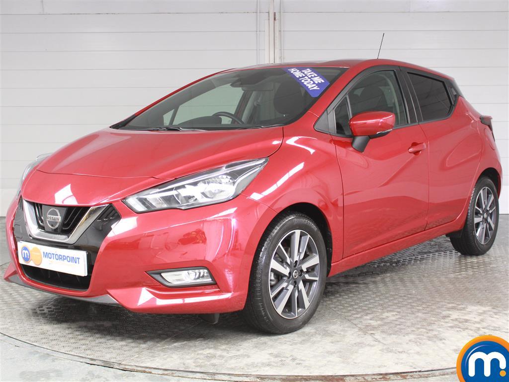 Nissan Micra N-Connecta - Stock Number (974920) - Passenger side front corner