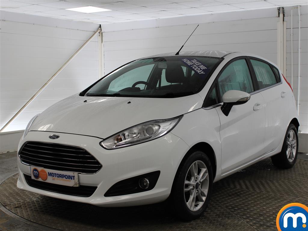 Ford Fiesta Zetec - Stock Number (975655) - Passenger side front corner