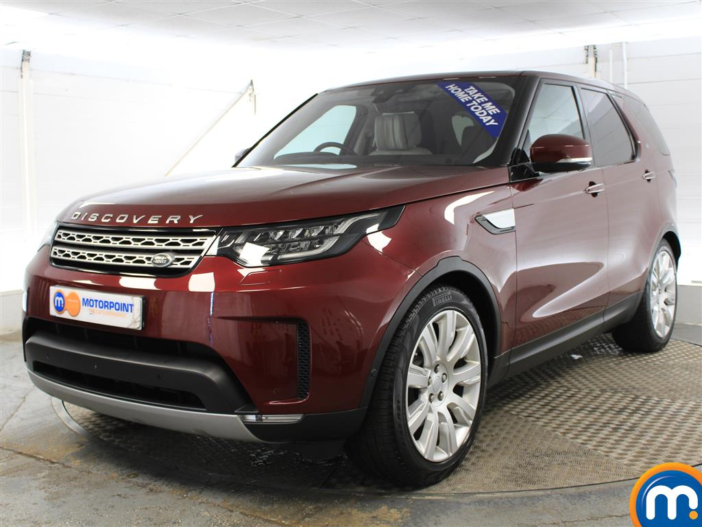 Land Rover Discovery HSE Luxury - Stock Number (975971) - Passenger side front corner