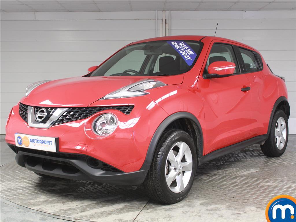 Nissan Juke Visia - Stock Number (970694) - Passenger side front corner