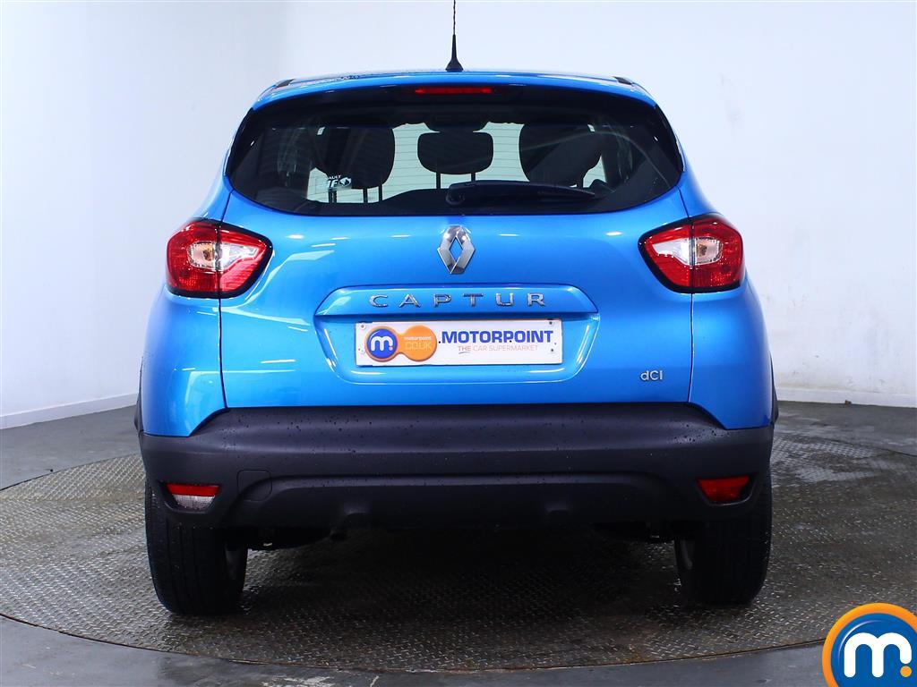 Renault Captur Expression-Plus Manual Diesel Hatchback - Stock Number (976914) - Rear bumper