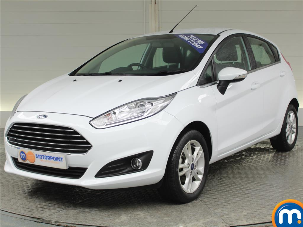 Ford Fiesta Zetec - Stock Number (973942) - Passenger side front corner
