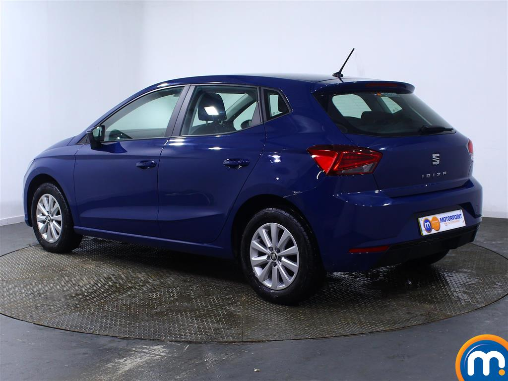 Seat Ibiza SE Manual Petrol Hatchback - Stock Number (977101) - Passenger side rear corner