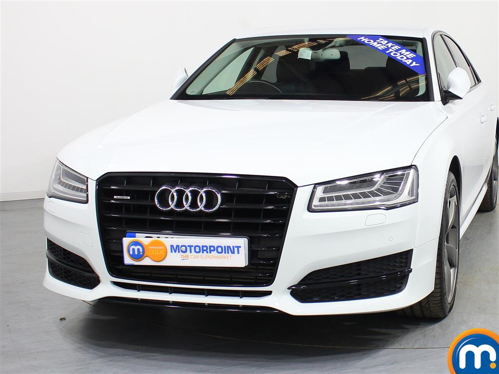 Audi A8 Black Edition Automatic Diesel Saloon - Stock Number (972280) - Front bumper
