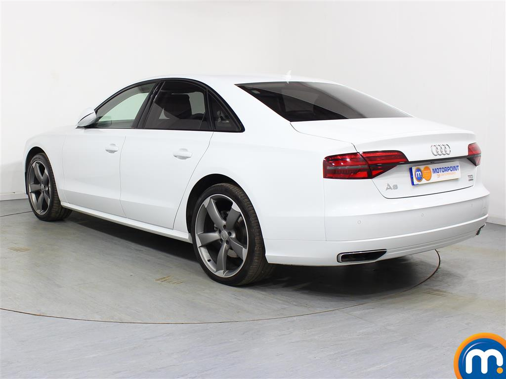 Audi A8 Black Edition Automatic Diesel Saloon - Stock Number (972280) - Passenger side rear corner