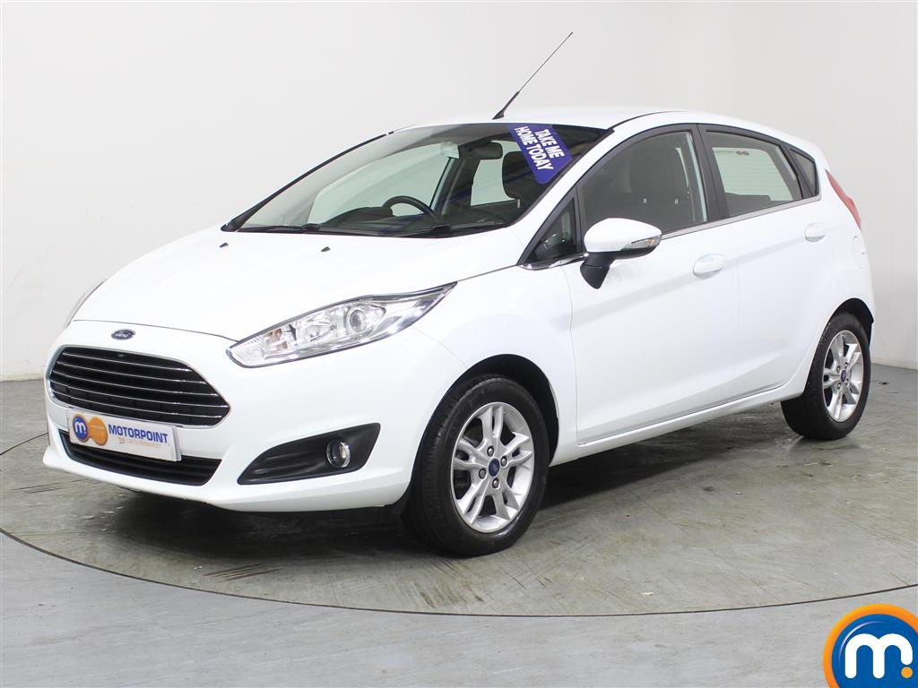 Ford Fiesta Zetec - Stock Number (971910) - Passenger side front corner