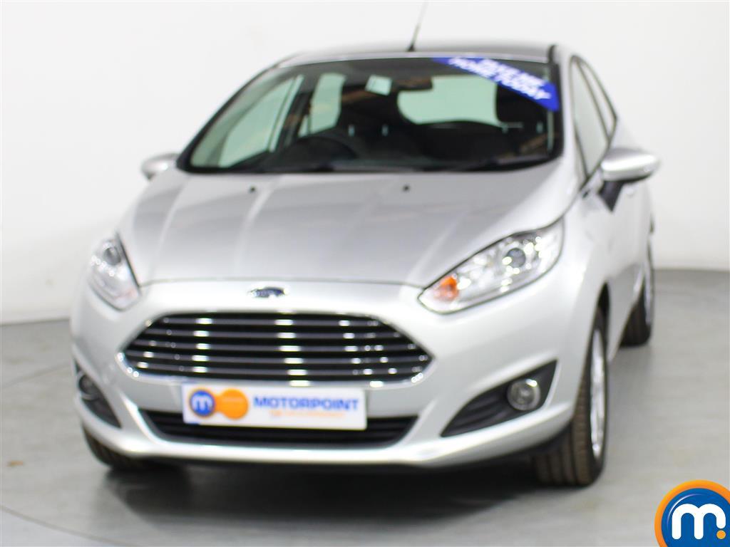 Ford Fiesta Zetec Manual Petrol Hatchback - Stock Number (977067) - Front bumper
