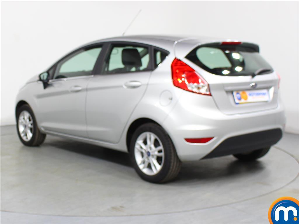 Ford Fiesta Zetec Manual Petrol Hatchback - Stock Number (977067) - Passenger side rear corner