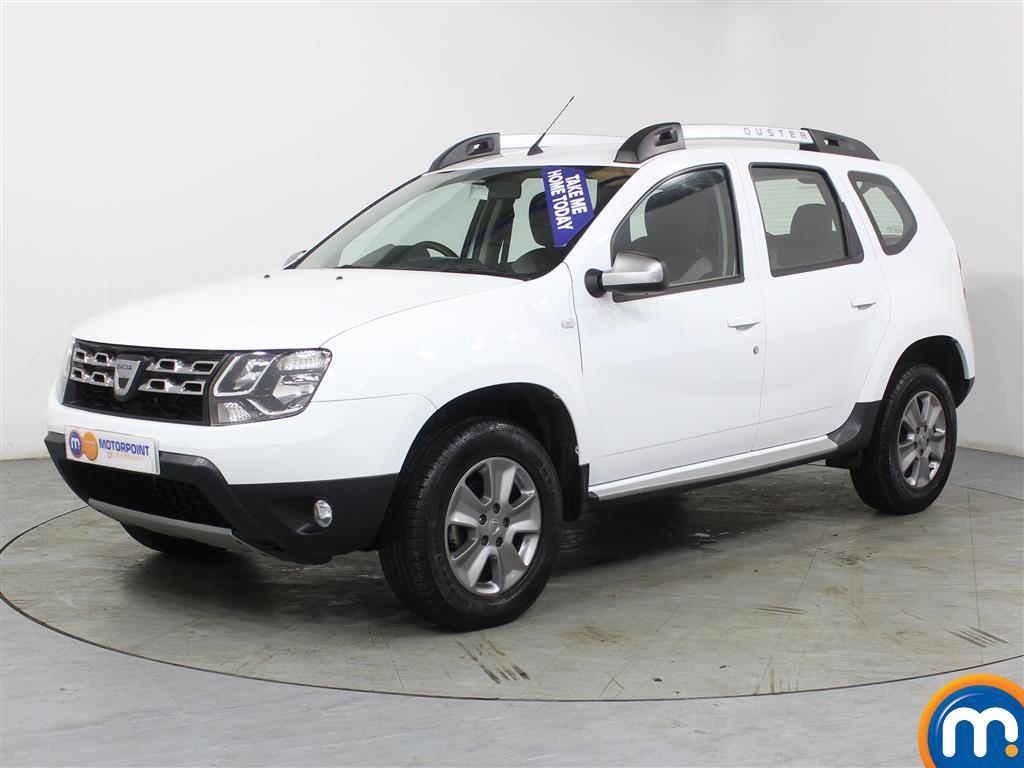 Dacia Duster Nav-Plus - Stock Number (962338) - Passenger side front corner