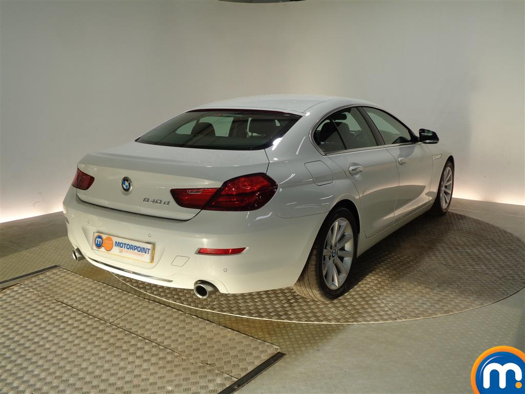 BMW 6 Series SE Automatic Diesel Saloon - Stock Number (964903) - Drivers side rear corner