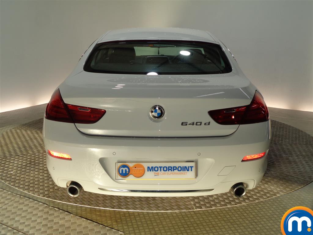 BMW 6 Series SE Automatic Diesel Saloon - Stock Number (964903) - Rear bumper