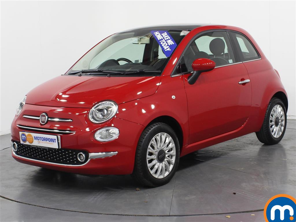 Fiat 500 Lounge - Stock Number (974525) - Passenger side front corner