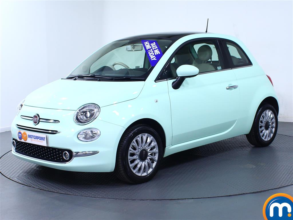 Fiat 500 Lounge - Stock Number (977344) - Passenger side front corner