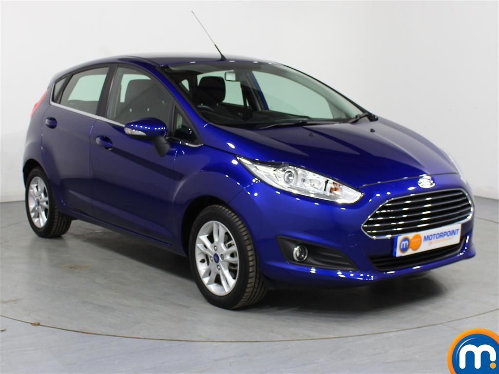 Ford Fiesta Zetec Automatic Petrol Hatchback - Stock Number (977069) - Drivers side front corner
