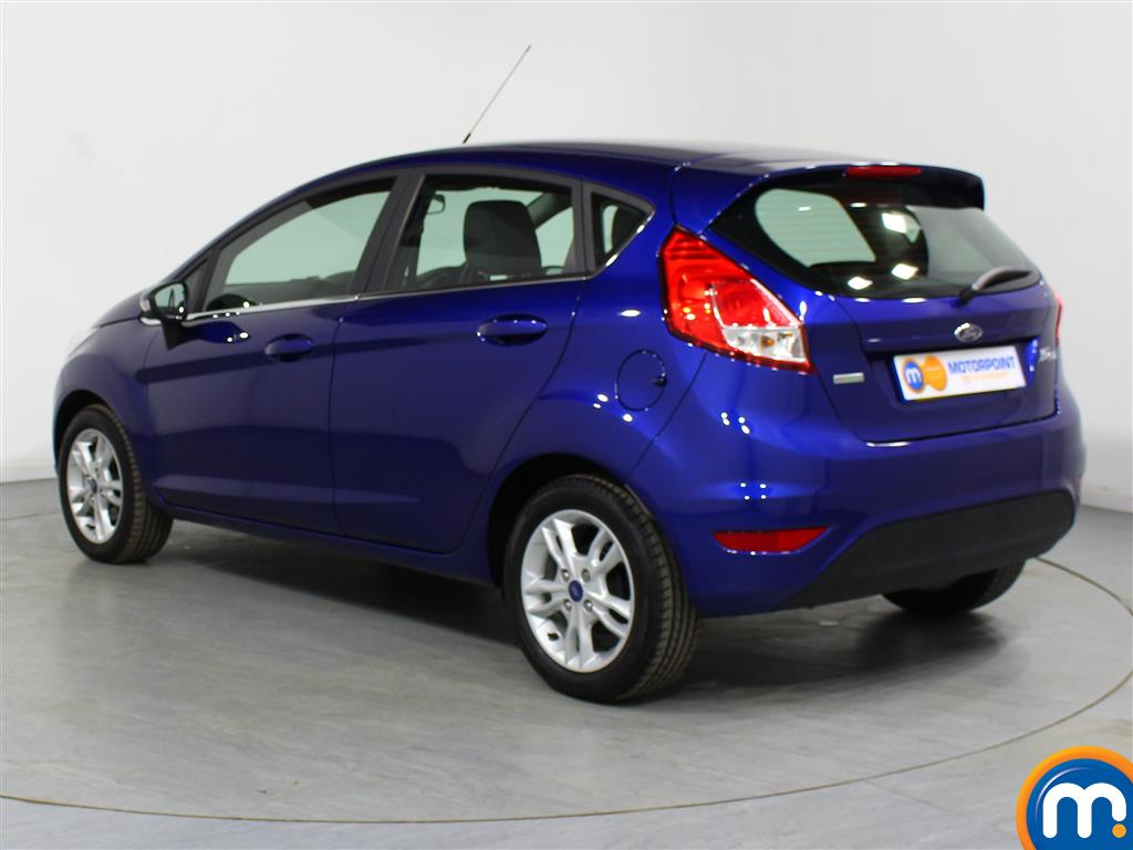 Ford Fiesta Zetec Automatic Petrol Hatchback - Stock Number (977069) - Passenger side rear corner