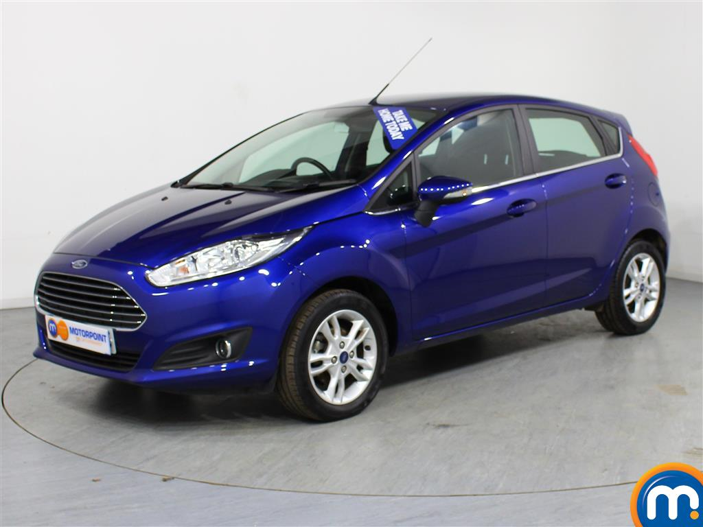 Ford Fiesta Zetec - Stock Number (976213) - Passenger side front corner