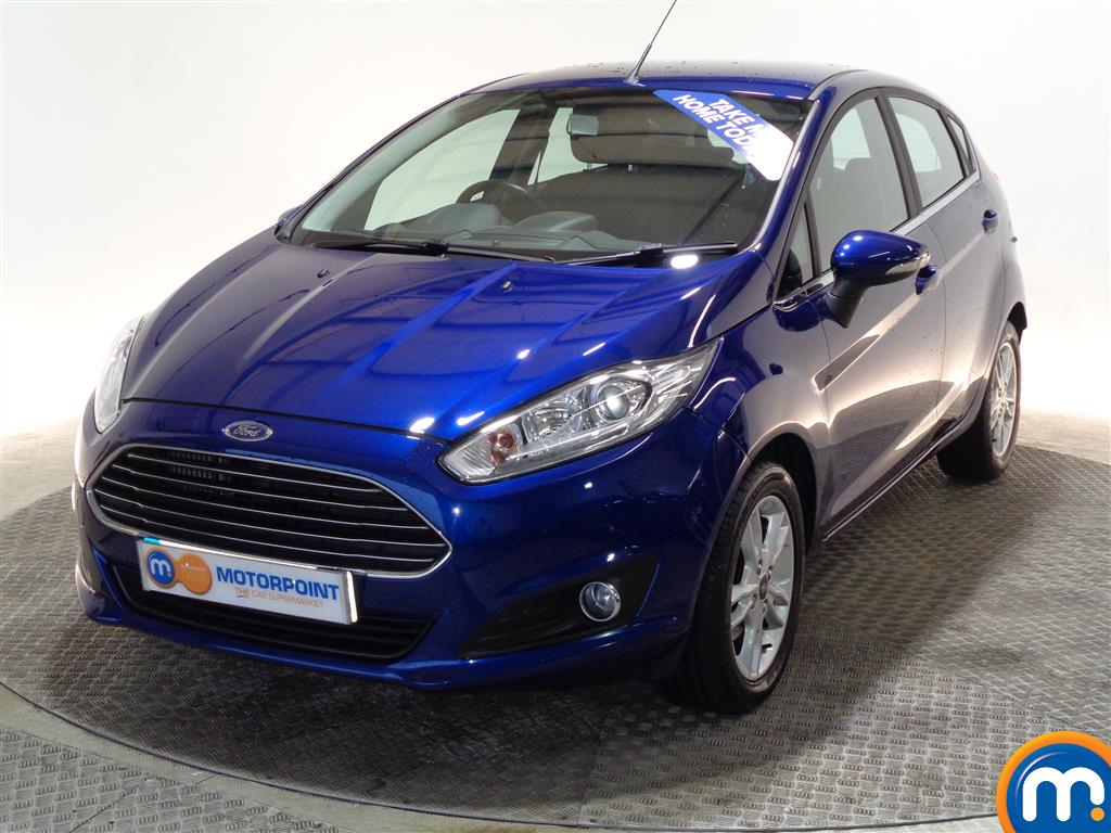 Ford Fiesta Zetec - Stock Number (976225) - Passenger side front corner