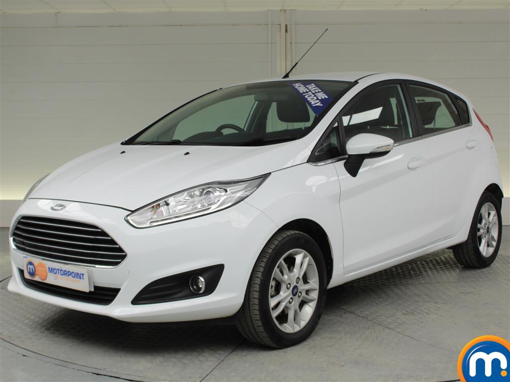 Ford Fiesta Zetec - Stock Number (975158) - Passenger side front corner