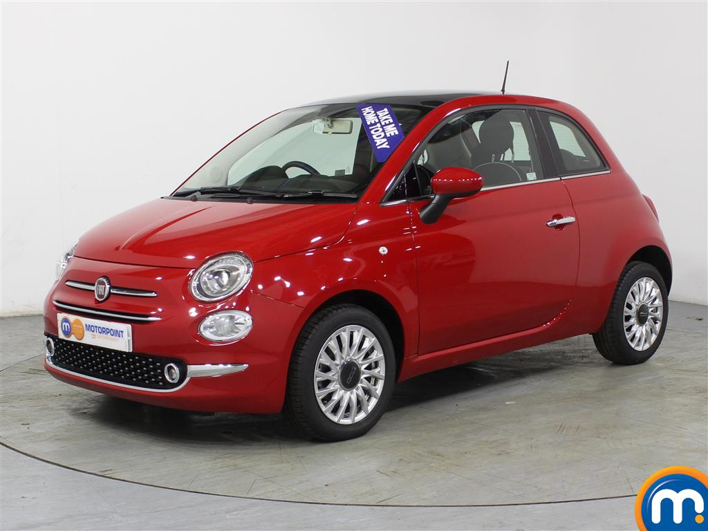 Fiat 500 Lounge - Stock Number (966251) - Passenger side front corner