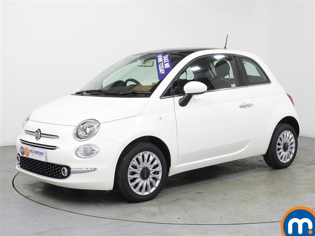 Fiat 500 Lounge - Stock Number (968554) - Passenger side front corner