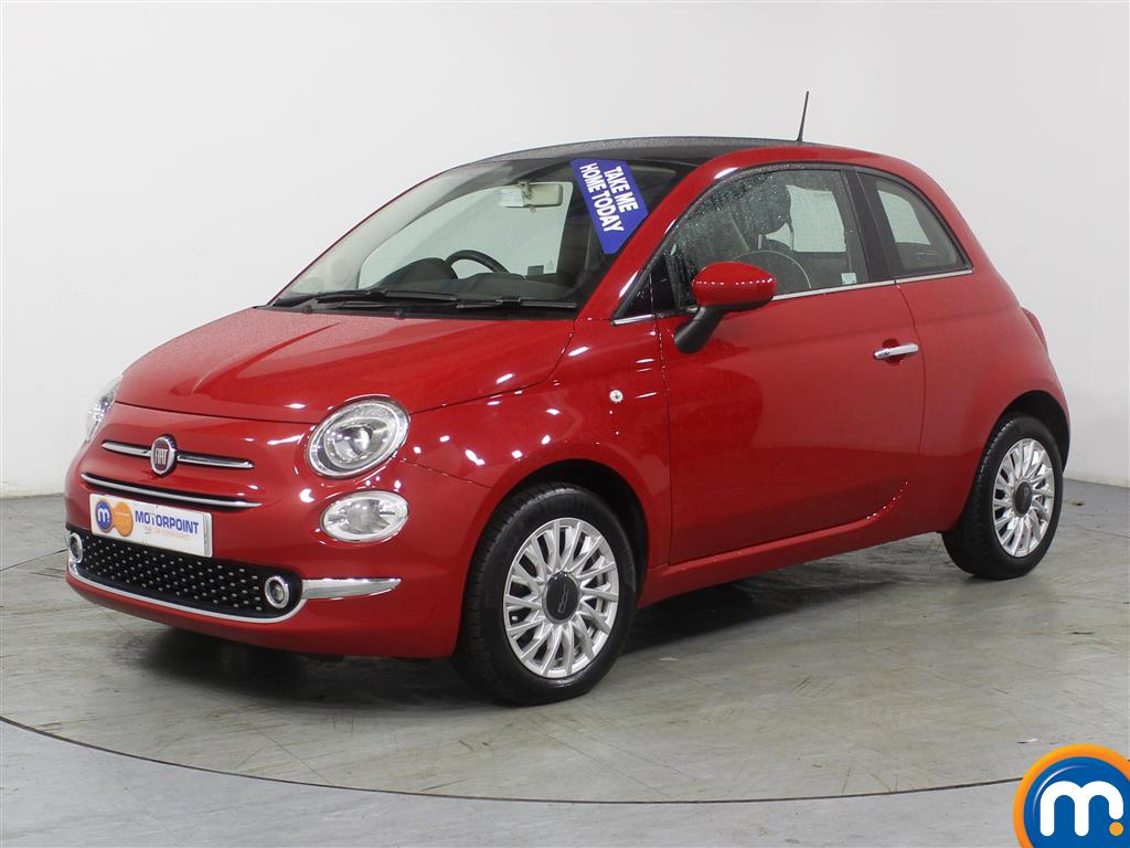 Fiat 500 Lounge - Stock Number (970263) - Passenger side front corner