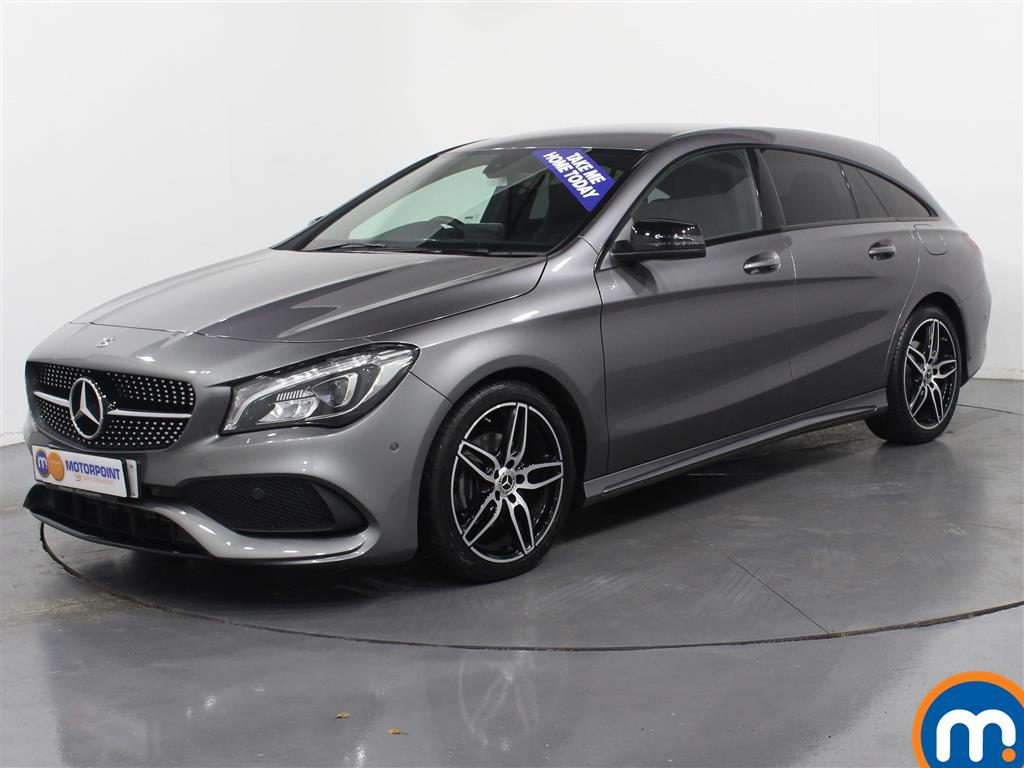 Mercedes-Benz Cla Class AMG Line - Stock Number (966551) - Passenger side front corner