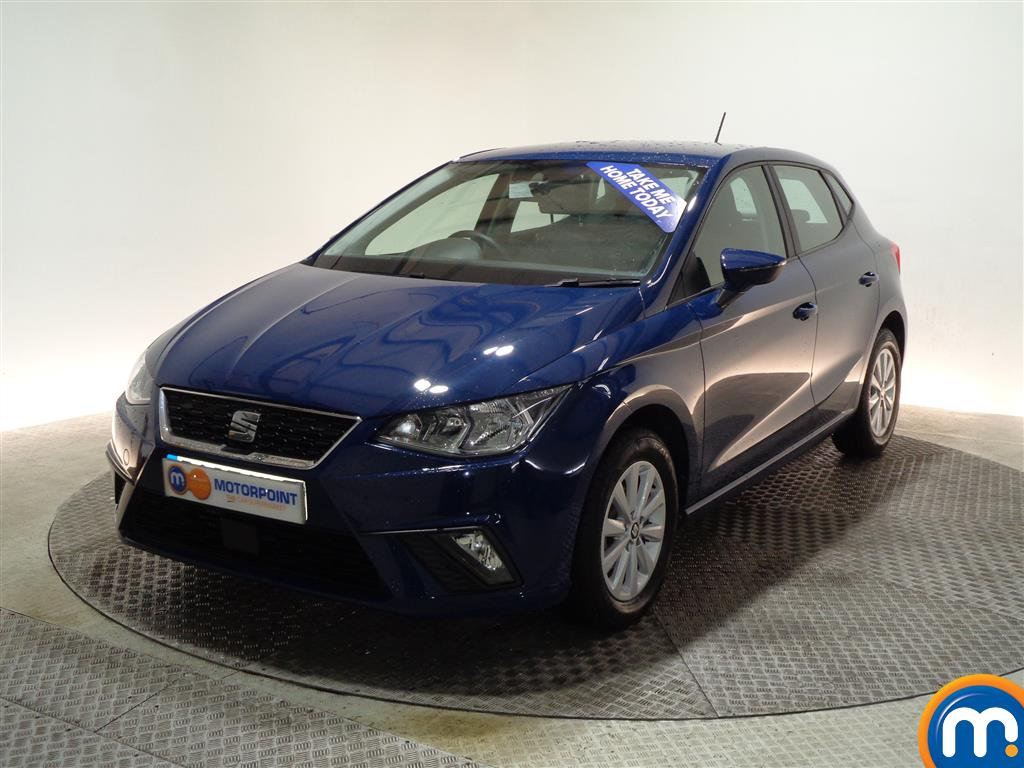 Seat Ibiza SE Manual Petrol Hatchback - Stock Number (977088) - Passenger side front corner