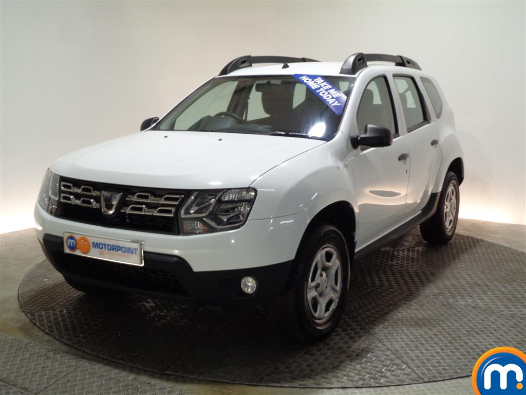 Dacia Duster AIR Manual Petrol Crossover - Stock Number (960409) - Passenger side front corner