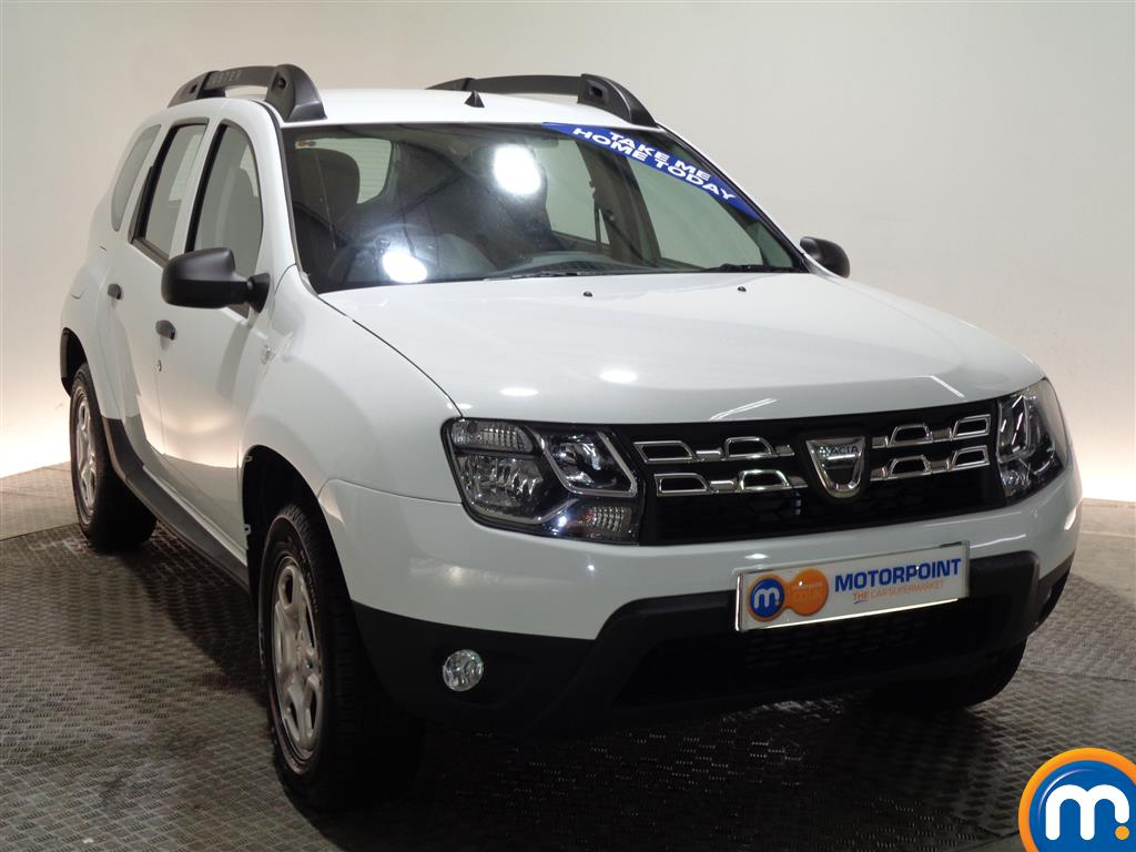 Dacia Duster AIR Manual Petrol Crossover - Stock Number (960409) - Drivers side front corner