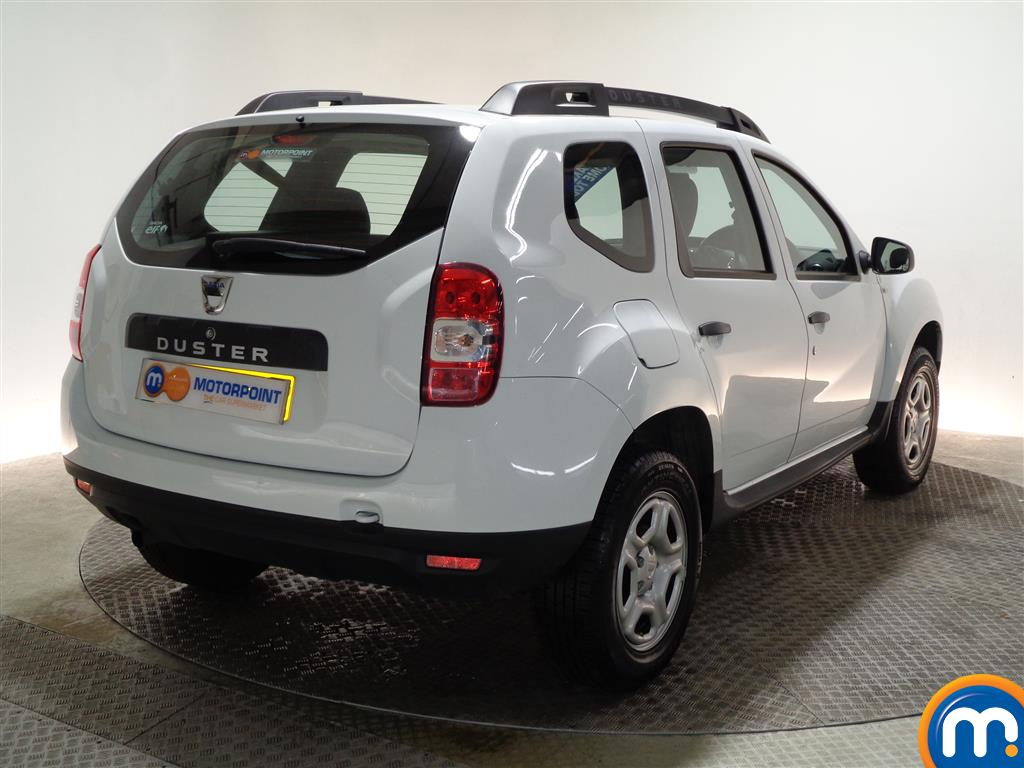 Dacia Duster AIR Manual Petrol Crossover - Stock Number (960409) - Drivers side rear corner
