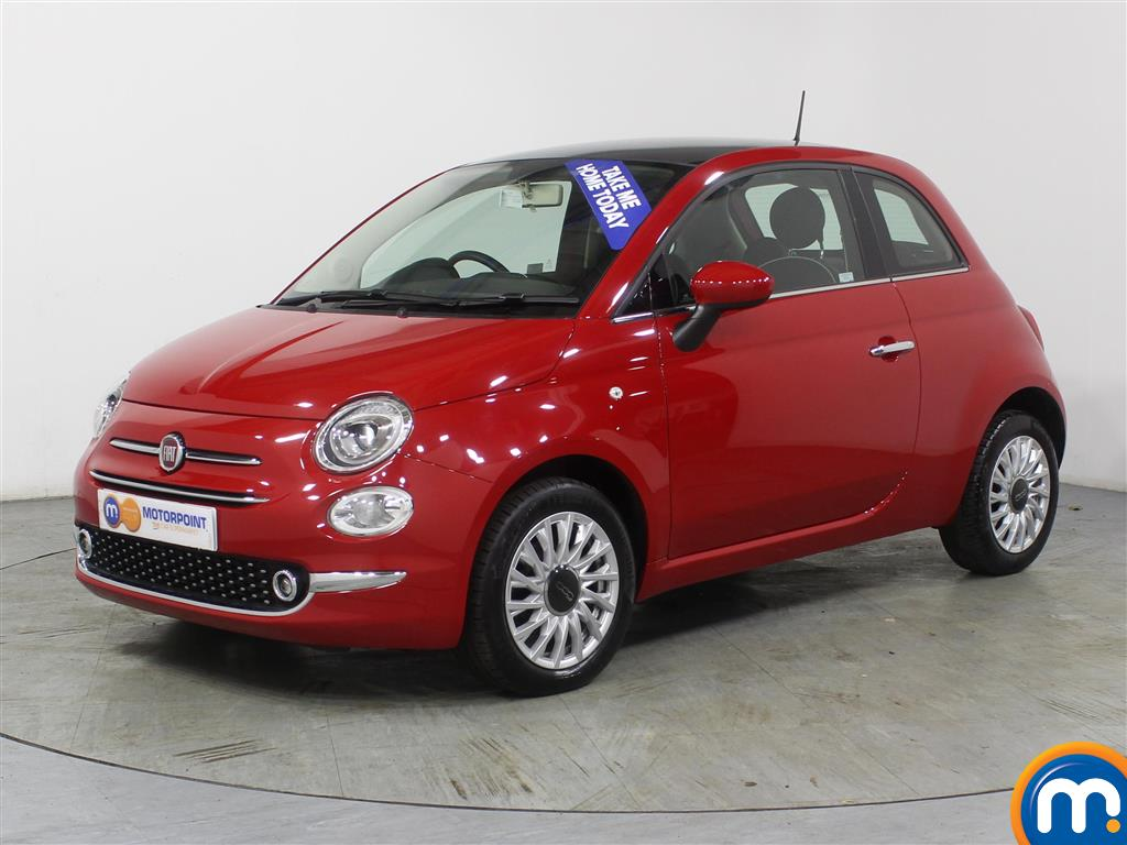 Fiat 500 Lounge - Stock Number (972156) - Passenger side front corner