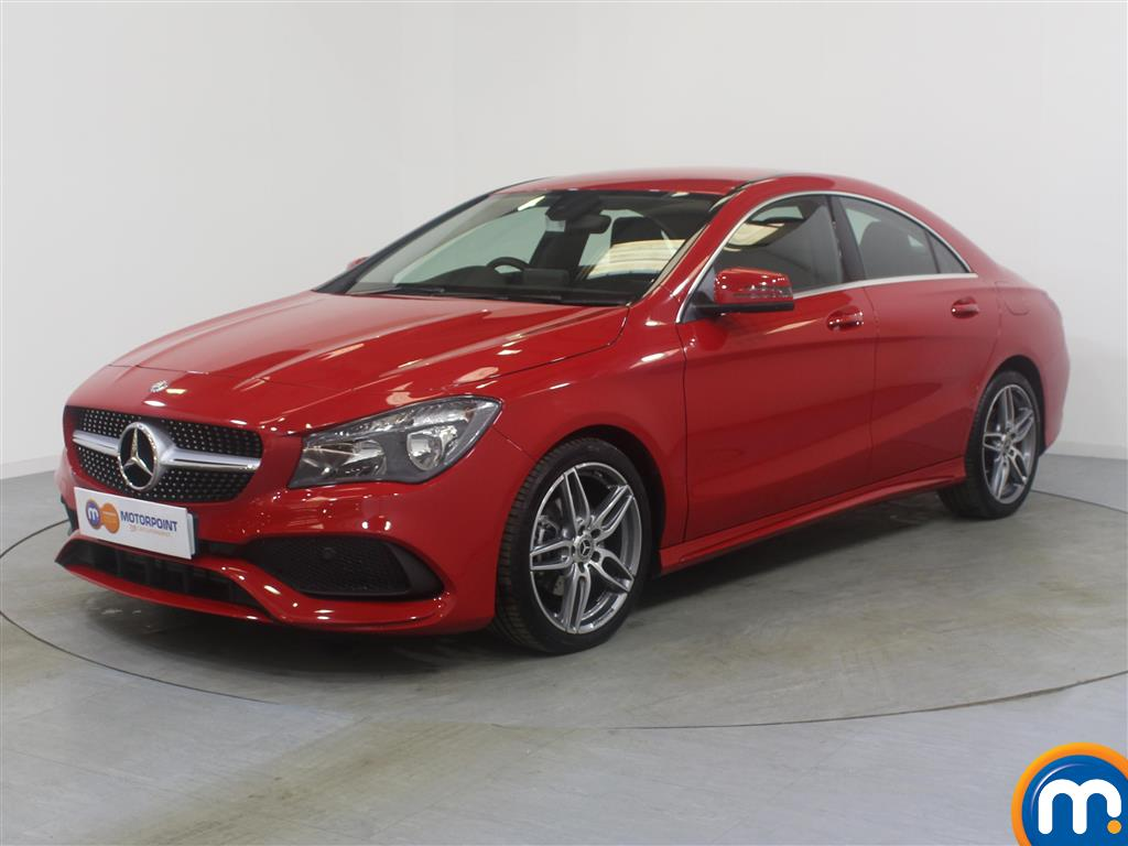 Mercedes-Benz Cla Class AMG Line Edition - Stock Number (967245) - Passenger side front corner