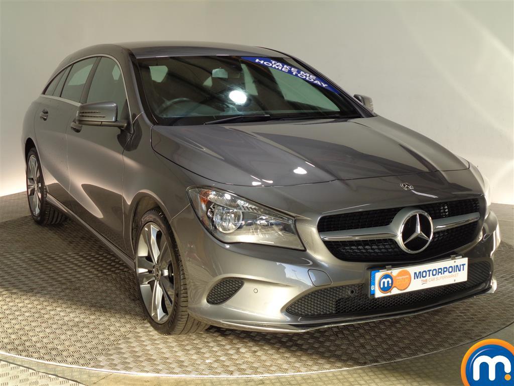 Mercedes-Benz Cla Class Sport Manual Petrol Estate - Stock Number (977917) - Drivers side front corner