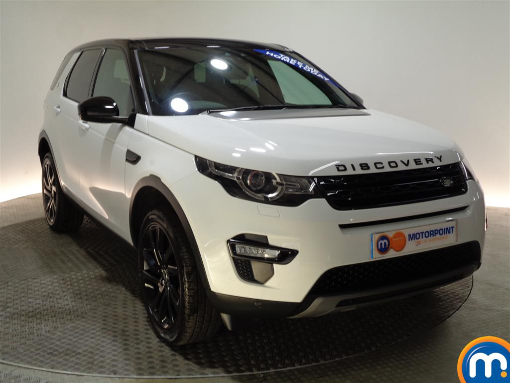 Land Rover Discovery Sport Hse Black Automatic Diesel 4X4 - Stock Number (975743) - Drivers side front corner