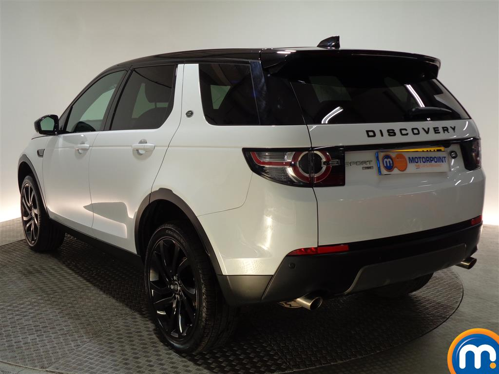 Land Rover Discovery Sport Hse Black Automatic Diesel 4X4 - Stock Number (975743) - Passenger side rear corner