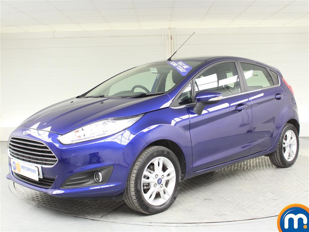 Ford Fiesta Zetec - Stock Number (976206) - Passenger side front corner