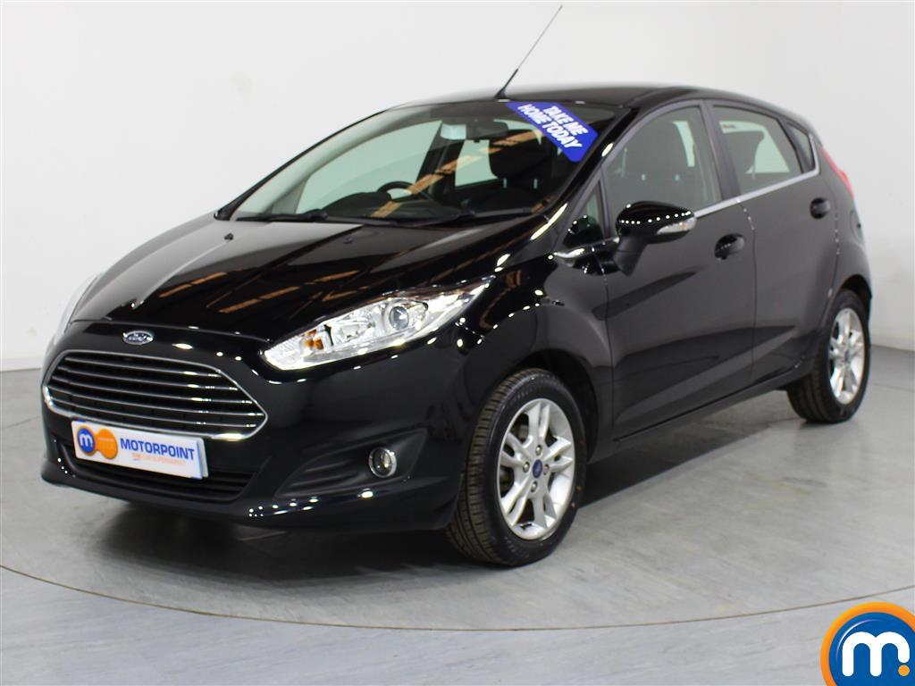 Ford Fiesta Zetec - Stock Number (978605) - Passenger side front corner