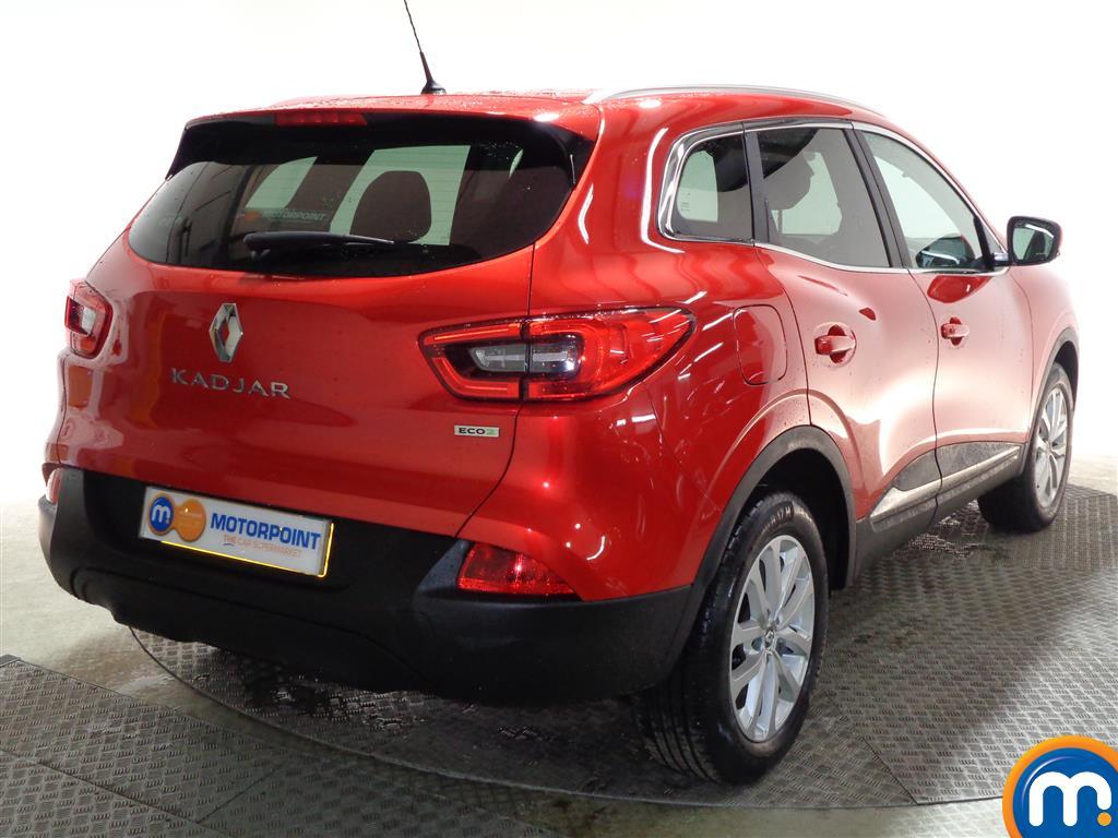 Renault Kadjar Dynamique Nav Manual Diesel Hatchback - Stock Number (977974) - Drivers side rear corner