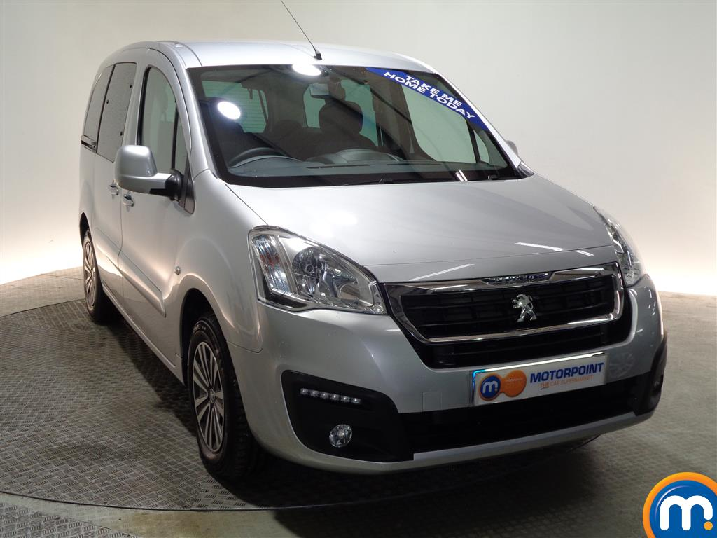 Peugeot Partner Tepee Active Automatic Diesel Estate - Stock Number (978084) - Drivers side front corner