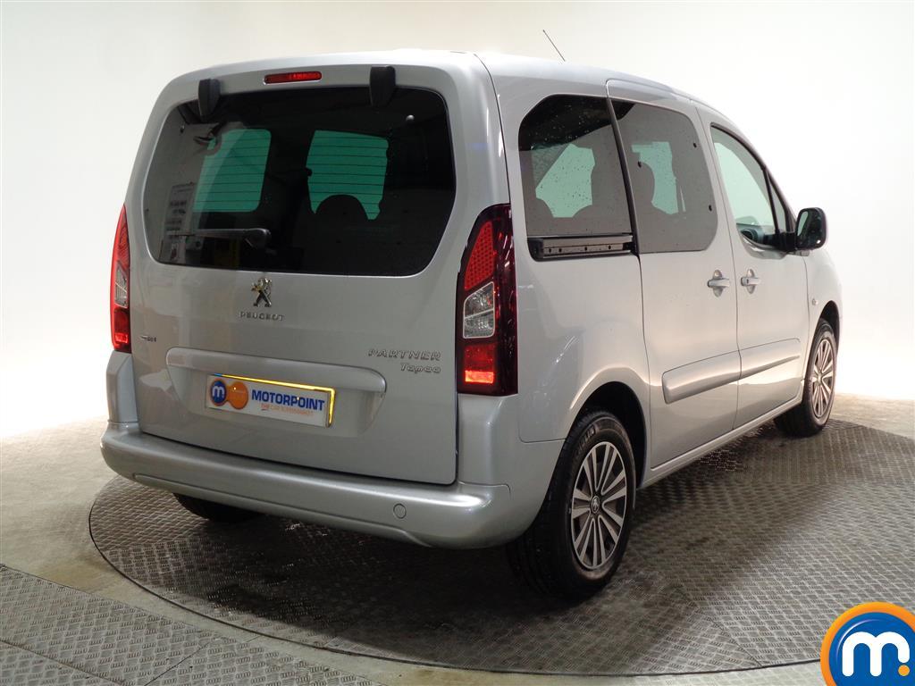 Peugeot Partner Tepee Active Automatic Diesel Estate - Stock Number (978084) - Drivers side rear corner