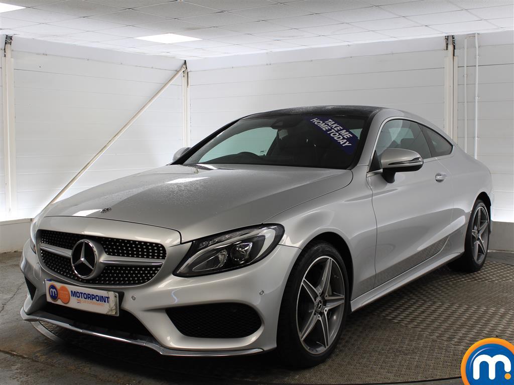 Mercedes-Benz C Class AMG Line - Stock Number (976646) - Passenger side front corner