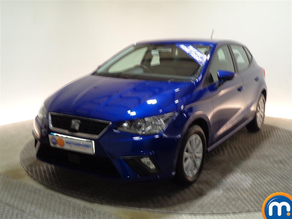 Seat Ibiza SE Manual Petrol Hatchback - Stock Number (978485) - Passenger side front corner