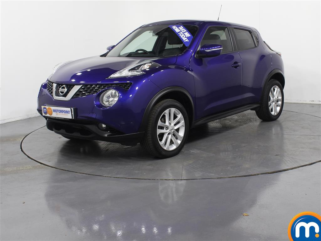 Nissan Juke N-Connecta - Stock Number (976698) - Passenger side front corner