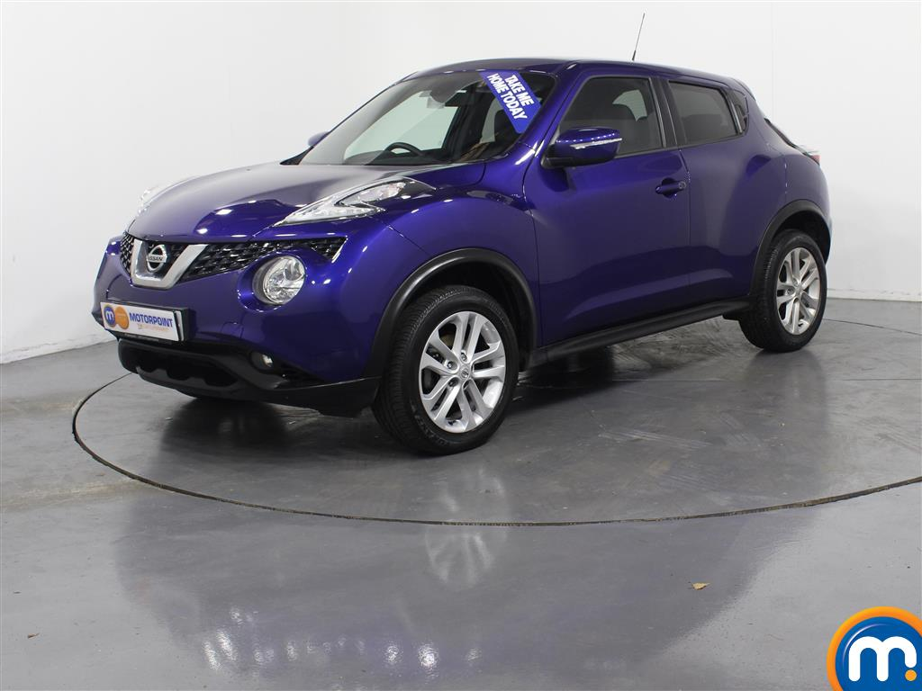 Nissan Juke N-Connecta - Stock Number (977340) - Passenger side front corner
