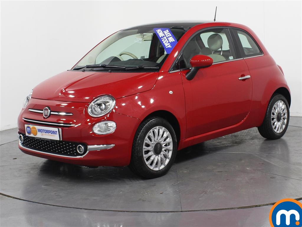 Fiat 500 Lounge - Stock Number (976222) - Passenger side front corner