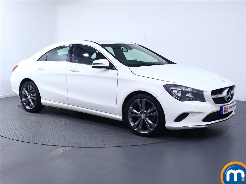 Mercedes-Benz Cla Class Sport Manual Diesel Coupe - Stock Number (975110) - Drivers side front corner
