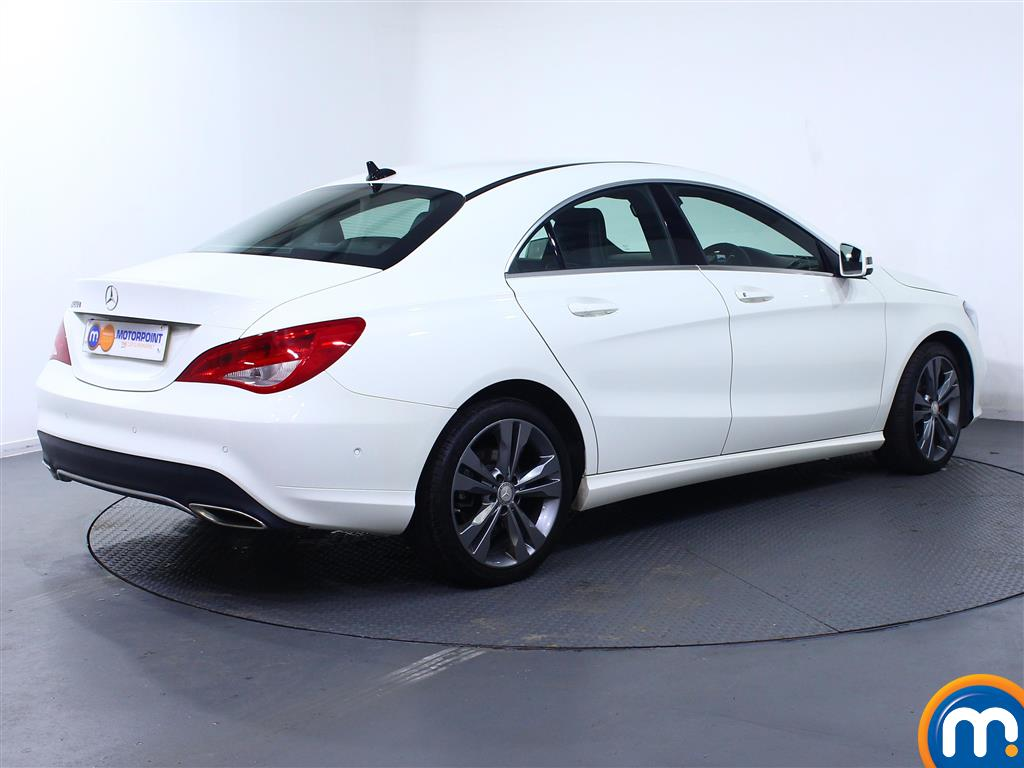 Mercedes-Benz Cla Class Sport Manual Diesel Coupe - Stock Number (975110) - Drivers side rear corner